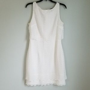 American Living White Lace Sleevless Dress